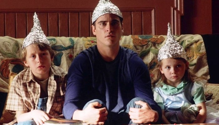 signs movie tinfoil hats