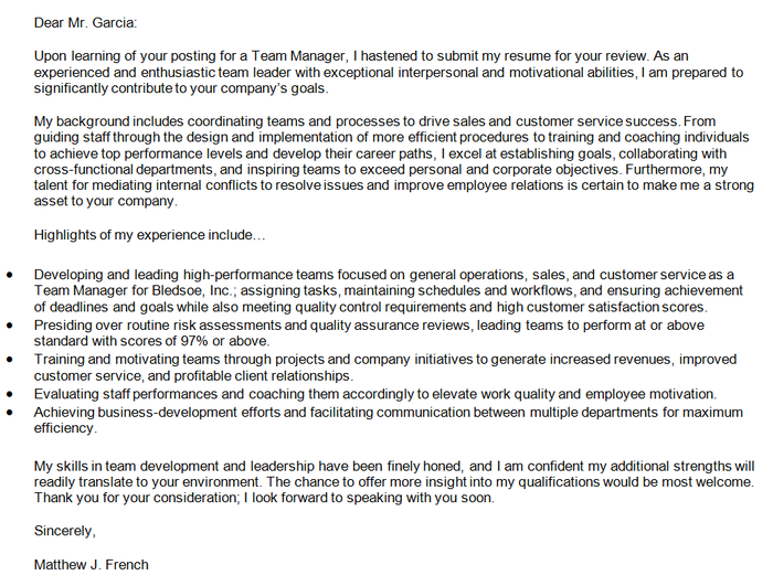 Cover Letter For Leadership Position from cdn0.careeraddict.com