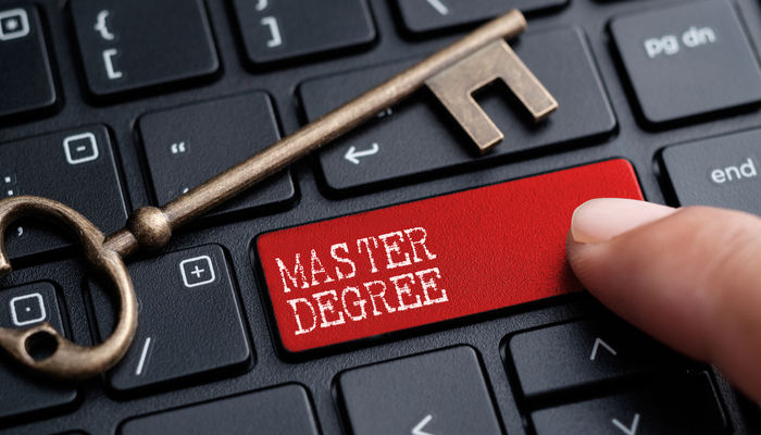 Master degree keyboard