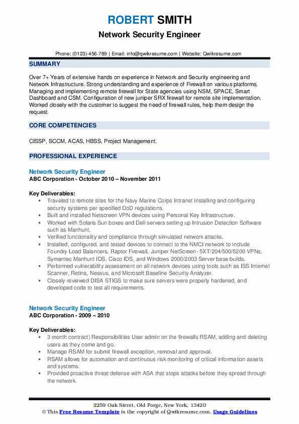 The 10 Best Software Engineer Cv Examples And Templates